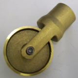 Lockfast Drain Rod Brass Clearing Wheel - 65000250